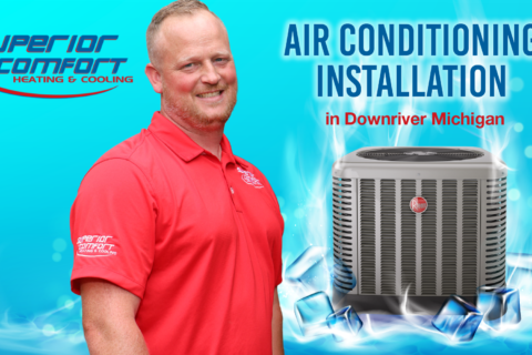 Air conditioning installation in Downriver Michigan