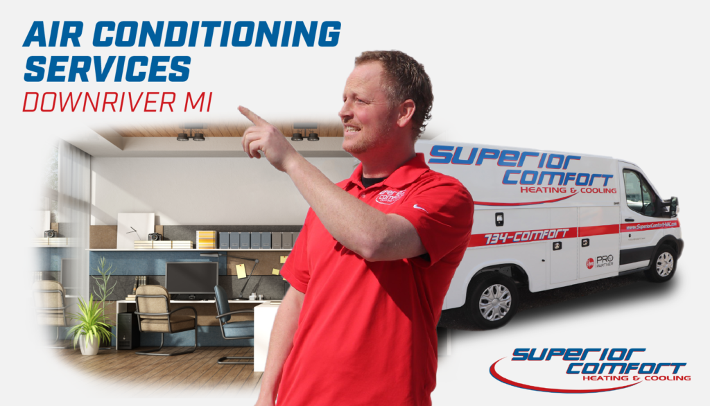 Air conditioning services in Downriver Michigan